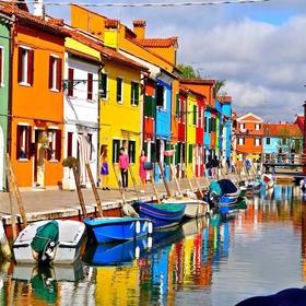威尼斯船游玻璃岛+彩色岛+教堂岛(12岁及以上)