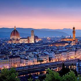 佛罗伦萨一日游:导游带领游览城市+佛罗伦萨学院美术馆&乌菲兹美术馆(2人起订)