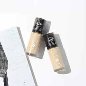 美国 Revlon露华浓 24小时不脱色粉底液 持久 保湿 控油 美白