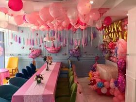 生日宴气球布展