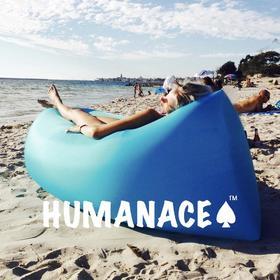 humanace懒人空气沙发便携式充气单人气垫户外成人睡袋午休躺椅子