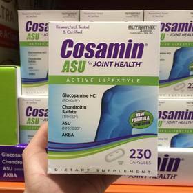 美国直邮 Cosamin ASU氨基酸葡萄糖软骨素 护关节颈椎骨骼 230粒