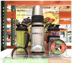 美国直邮 Nutribullet 1000W家用榨汁机果汁机搅拌机 12件套