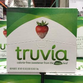 美国直邮 Truvia Stevia天然甜菊糖 代糖 糖尿适用400包