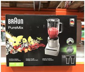 美国直邮 Braun博朗多功能榨汁机果汁机碎冰机 五档+脉冲 JB7192