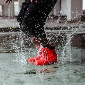 Subtle正品高端马丁雨靴天然橡胶防水防滑时尚男女雨鞋中筒礼物
