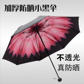 【有赞拼团】两用折叠小清新雨伞三折防晒防紫外线太阳伞