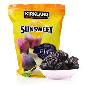 美国直邮 Kirkland Sunsweet无核加州西梅干 果脯果干零食 1590g