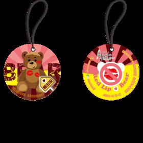 苏州市民卡●爱心情侣熊异形卡(礼品专用)