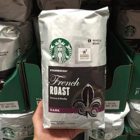 美国直邮 Starbucks French Roast 星巴克法式咖啡豆 1130g