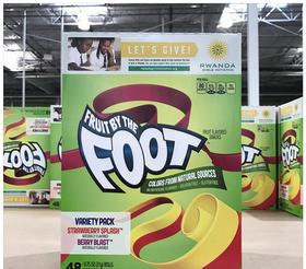 美国直邮 Foot 芙特VC卷糖果宝宝天然果汁软糖水果卷 48卷