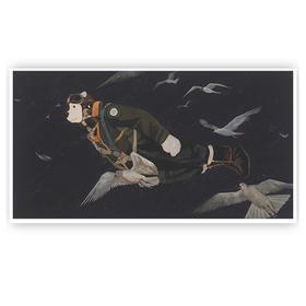 青年艺术家胡扬 | 签名限量版画《夜空潜行》