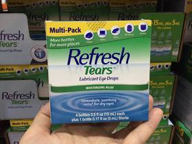 美国直邮 Refresh Tears 人造眼泪 润泽滴眼液 15ml×4瓶+5ml×1瓶
