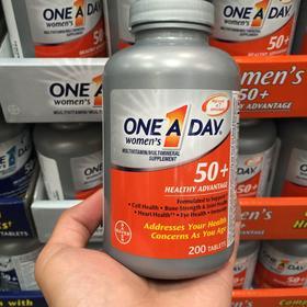 美国直邮 Bayer 拜耳 One A Day 50岁以上女性复合维生素 220粒