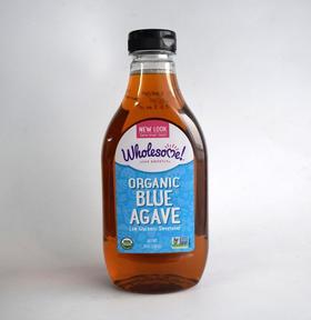 美国直邮 wholesome 龙舌兰糖浆 花蜜低糖代糖1020g 2瓶