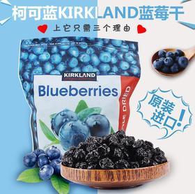 美国直邮 Kirkland柯克兰蓝莓干大颗蓝莓干果干零食 567g