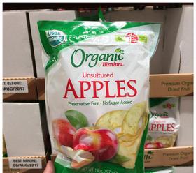 美国直邮 Organic by Mariani非无机苹果果脯果干办公室零食397g