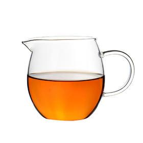 永利汇 耐热玻璃公道杯 高硅硼加厚茶海分茶器功夫茶具龙蛋公杯
