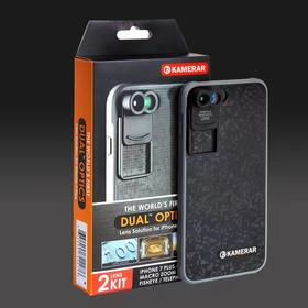 Kamerar卡米拉美国 iPhone7Plus双镜头摄影套装 微距+鱼眼