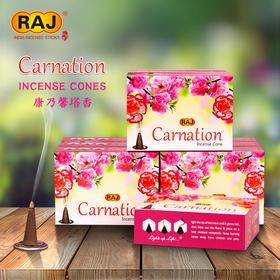 RAJ印度香 康乃馨Carnation 印度原装进口手工香薰熏香塔香167