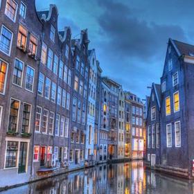 阿姆斯特丹脚踏游船运河之旅
