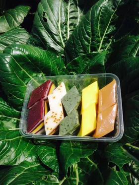 花式千层糕 艾草、红糖、黑米、莲子桂花、栀子花5种混合口味装