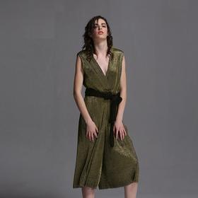 SYUSYUHAN设计师女装 竖条工艺打造闲暇时光气质连体裤