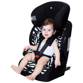 Zazababy汽车儿童安全座椅ISOFIX 0-4-7-12岁婴儿宝宝新生儿可躺