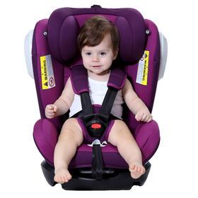 【秒杀送U型枕】Zazababy汽车儿童安全座椅ISOFIX 0-4-7-12岁婴儿宝宝新生儿可躺
