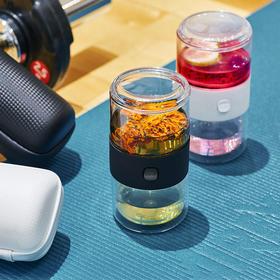 永利汇π杯玻璃快客杯户外旅行便携包旅游派杯整套喝茶套装