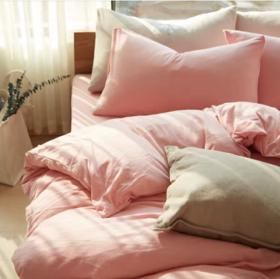Muji制造商 天竺棉床笠款四件套床品裸睡系列 超舒服包邮