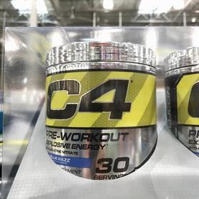 美国直邮 Cellucor细胞肌能C4 增肌训前能量氮泵195g*2罐