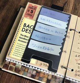 手帐小配件 阿怪要做的事To Do Board模板 把每天要做的事都记在手帐里