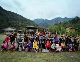 4月2日,旗山水磨坊青山、绿水,还有划竹排野炊,亲子游玩的那些乐趣!