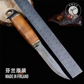 芬兰刀MARTTIINI长生鸟户外装备求生野营工具防身随身高硬度小刀