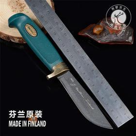 芬兰刀MARTTIINI户外战术高硬度直刀绿色兵团求生军刀