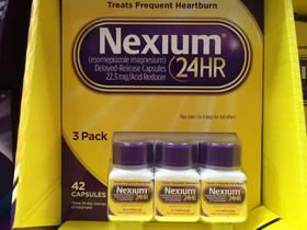 美国直邮Nexium 24hr 胃酸缓解剂胃痛胃灼热感烧心反酸三瓶装