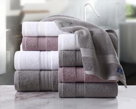 诺尔特面巾2条装  五星级酒店毛巾纯棉加厚洗脸面巾男士女士成人全棉吸水家用