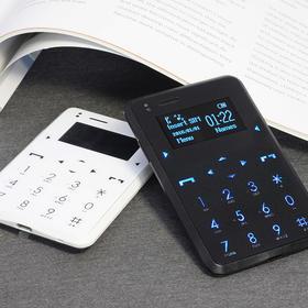 和信用卡一样轻薄的手机,新加坡CARD Phone,蓝牙拨号|安全防护|健康提醒|康宁强化玻璃