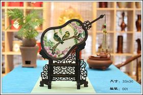 名家潮绣精品——葫芦固扇系列
