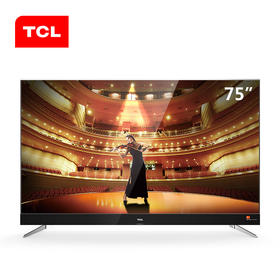 【新品上市】TCL C2 75寸 剧院电视 纤薄合金 哈曼卡顿音响 防抖动 全新838芯片,34核处理