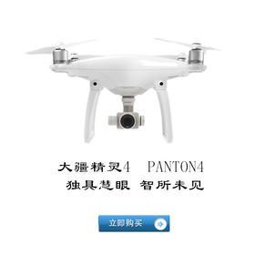 疆DJI精灵4无人机 Phantom4专业航拍四轴飞行器 4K高清摄影相机遥控飞机航模 大疆精灵4Phantom4无人机
