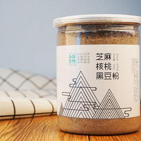 黑芝麻核桃黑豆粉 500g/罐 无添加代餐营养粉 补气乌发