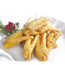 【梅州风味】梅州尚记盐焗鸡爪 真空包装 零食小吃 450g
