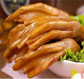 【梅州风味】梅州尚记盐焗香辣鸭爪 真空包装 零食小吃 450g