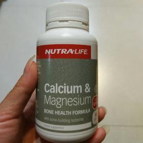 直邮新西兰NutraLife纽乐 钙镁片胶囊90粒 健康骨骼营养