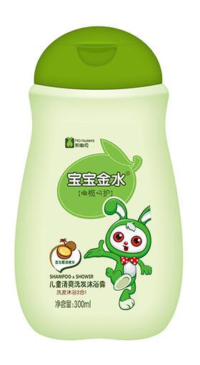 儿童清爽洗沐二合一(橄榄+椰乳)300ml