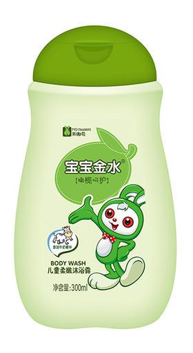 儿童柔嫩沐浴露 二合一    (橄榄+牛奶)300ml