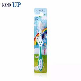 韩国进口NANO-UP/纳弗拉儿童牙刷5岁以上双重刷毛深入清洁牙缝