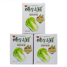 台湾味全高鲜味精500g装 全素食纯果蔬菜提炼鸡精进口味精调味料